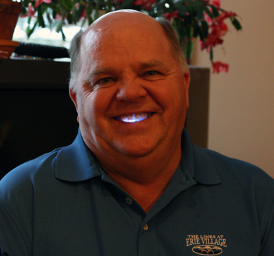Butch with unusual light source