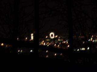Shaky image of IC lights