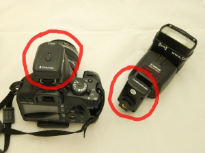 Hot shoe flash trigger and receiver