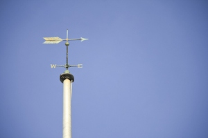Weathervane with vignetting