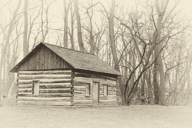 1791 North log cabin